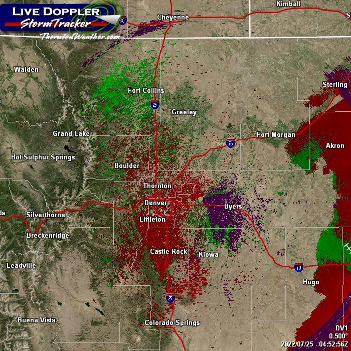 Super Doppler Radar For Denver, Colorado