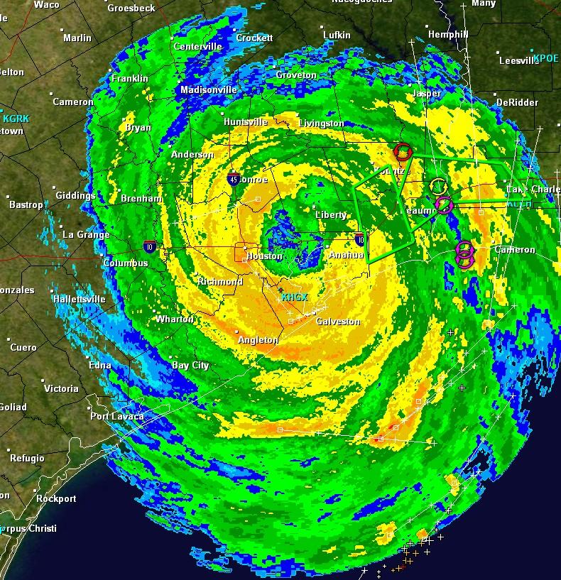 Hurricane Ike makes landfall Fear for what daybreak will bring