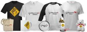 Weather Geek Stuff is a new site with a wide array of weather related clothing and novelties.