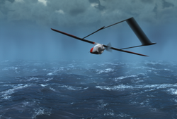 NASA uses unmanned UAVs as hurricane hunters.