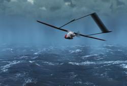 NASA uses unmanned UAVs as hurricane hunters.