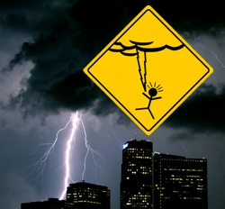 What are the odds that a weather event will be your undoing?  Image courtesy WeatherGeekStuff.com.