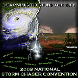 Denver will host the 11th annual National Storm Chaser Convention from February 13th to February 15th.