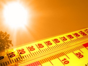 Denver broke the record high temperature for the date today.