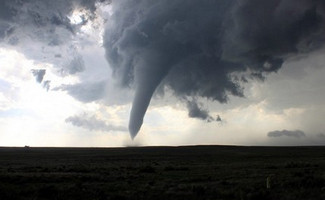 The Memorial Day tornado in Baca County, Colorado near Campo was the highlight of a week of storm chasing but it wasn't the only exciting thing to happen. (Tony Hake / ThorntonWeather.com)