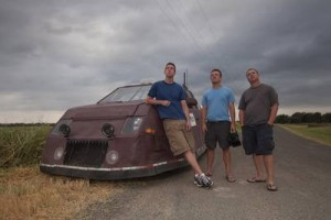 The Dominator team led by Reed Timmer are one of three groups of chasers in this season of Storm Chasers. (Discovery Channel)