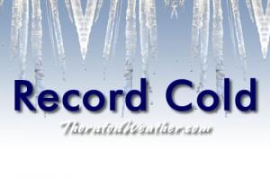 Record Cold Temperatures