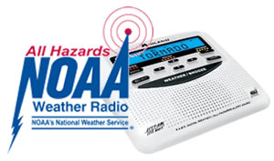 NOAA All Hazards Weather Radio