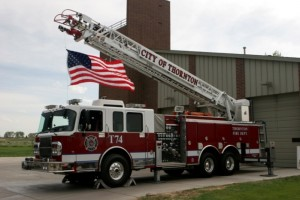 City of Thornton Fire Department engine. (City of Thornton)