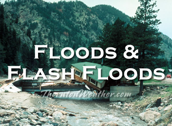Floods and Flash Floods