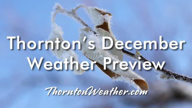 Thornton, Colorado's December Weather Preview