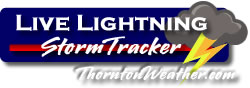 ThorntonWeather.com Lightning Detection and Warning Center