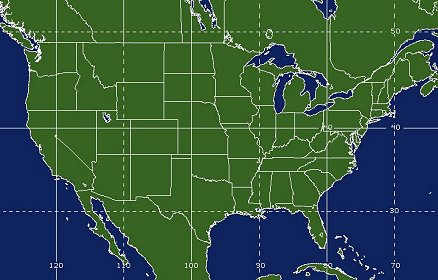 United States Satellite Imagery Funktop Color Infrared - Us satellite map