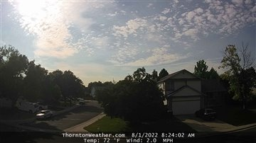 Thornton Weather Webcam- East