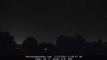 Thornton Weather Webcam- West